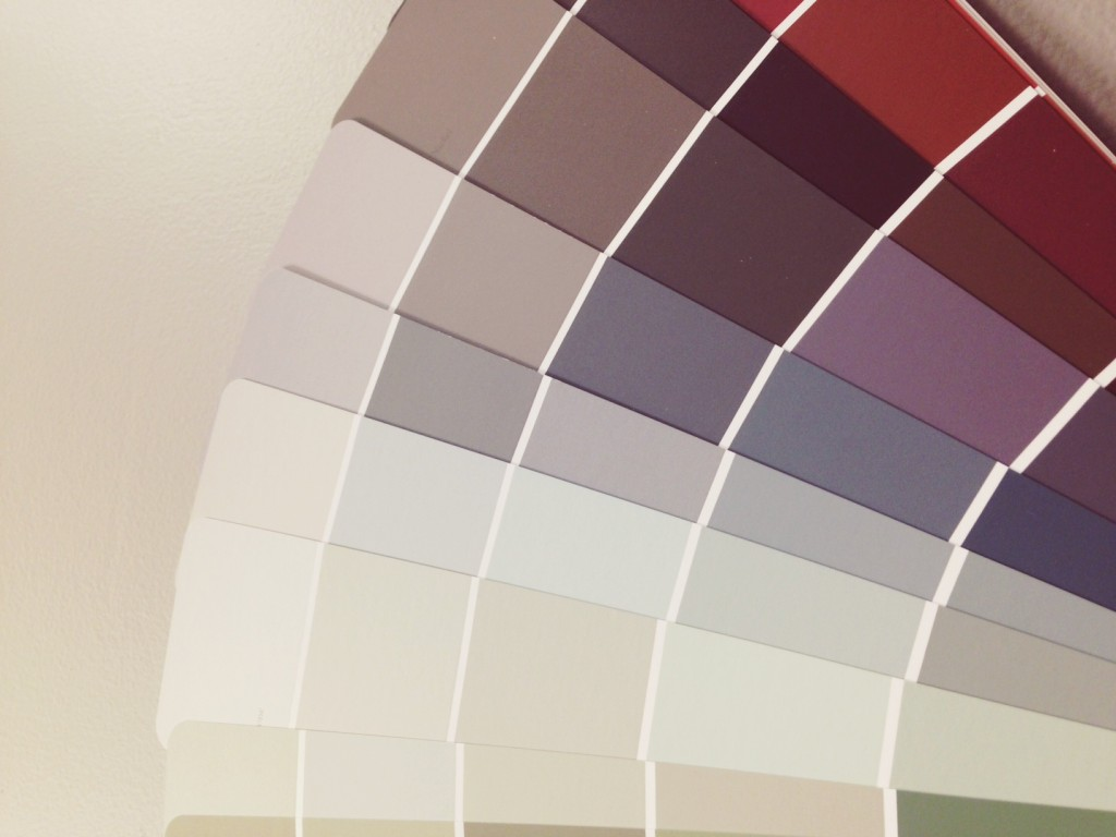 Choosing the right paint colours