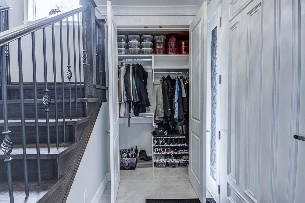 Burnaby Home Entrance Closet