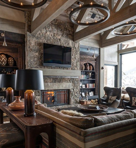 Ski Chalet Decorating Ideas: F23af6336735c62173c93e6c8c4ae1bd-ski-chalet-decor-chalet