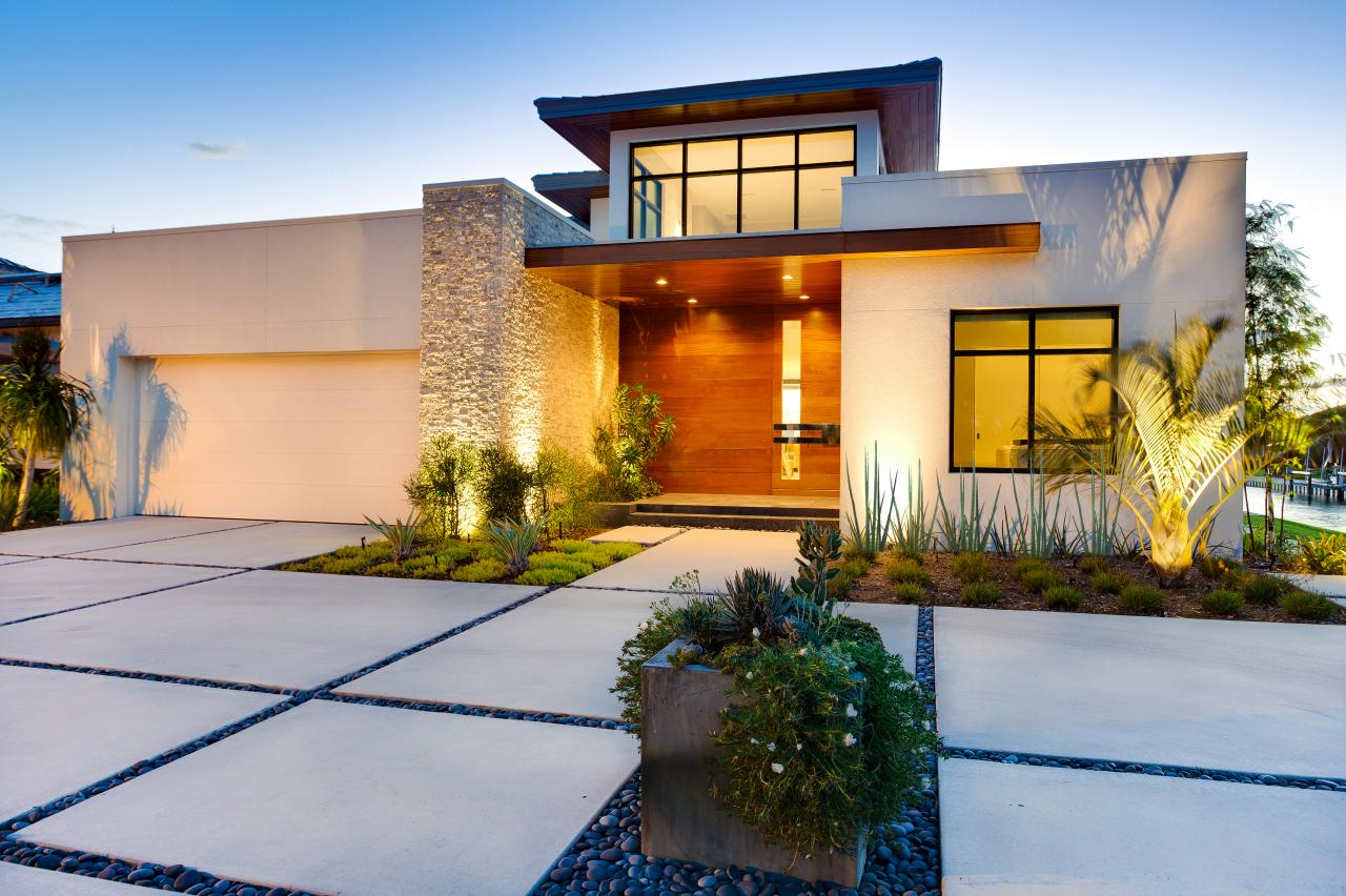 image-via-modern-landscapes-that-will-make-you-rethink-curb-appeal House Design Landscape Along Sidewalk on landscape along building, landscape along drive, landscape along hillside, landscape along house, landscape along mailbox, landscape along road, landscape along roadway, landscape along bus, landscape along fencing, landscape along windows, landscape along stone wall,