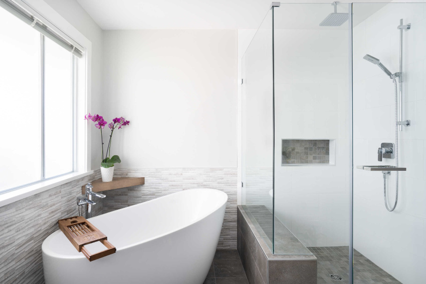 Port Coquitlam master bathroom renovation