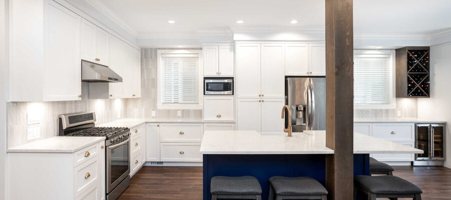 Langley kitchen upgrade - transitional style