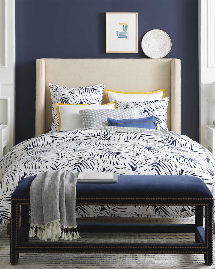 Classic Blue and white bedding