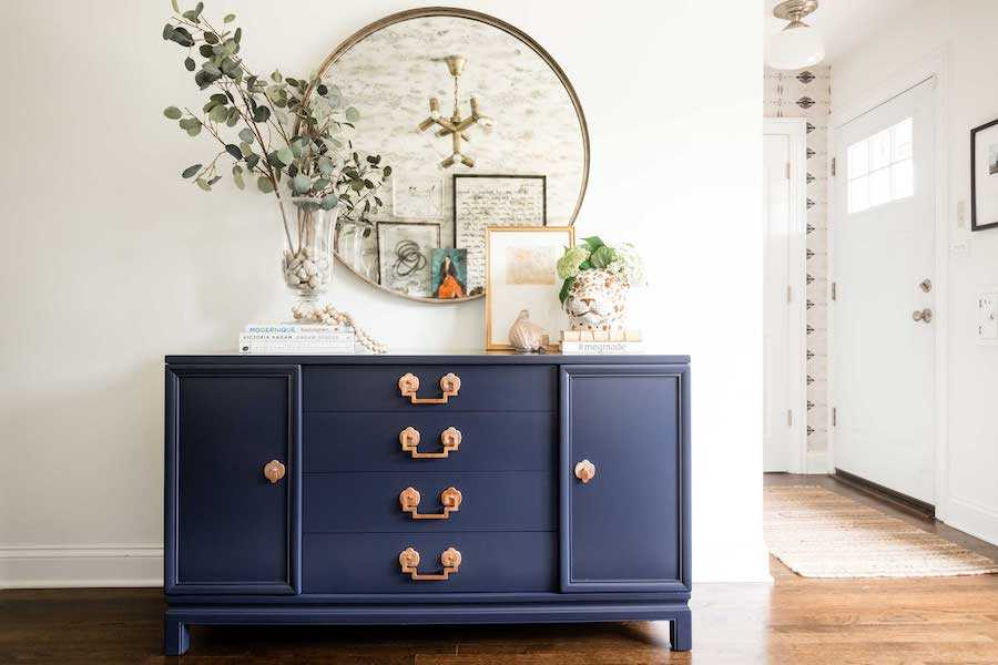 classic Blue painted furniture