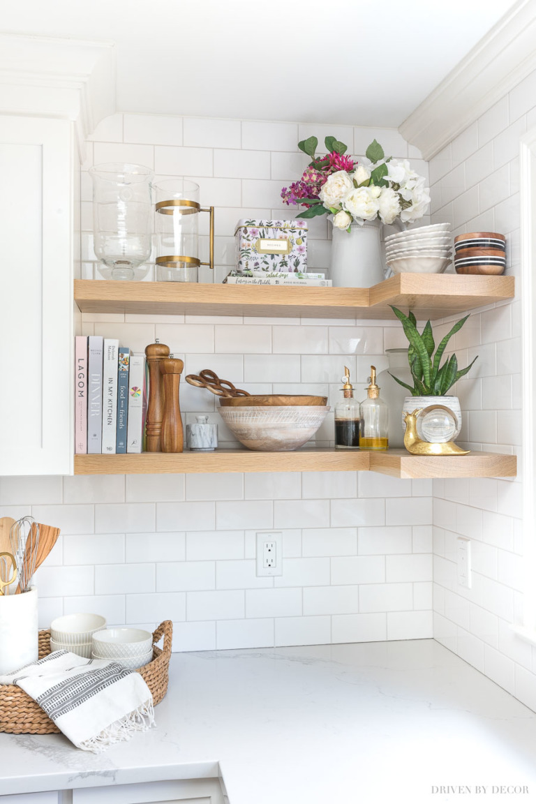 Kitchen Trends: Styled Shelves