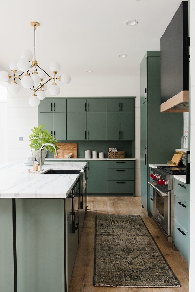 Top Kitchen Trends: Green