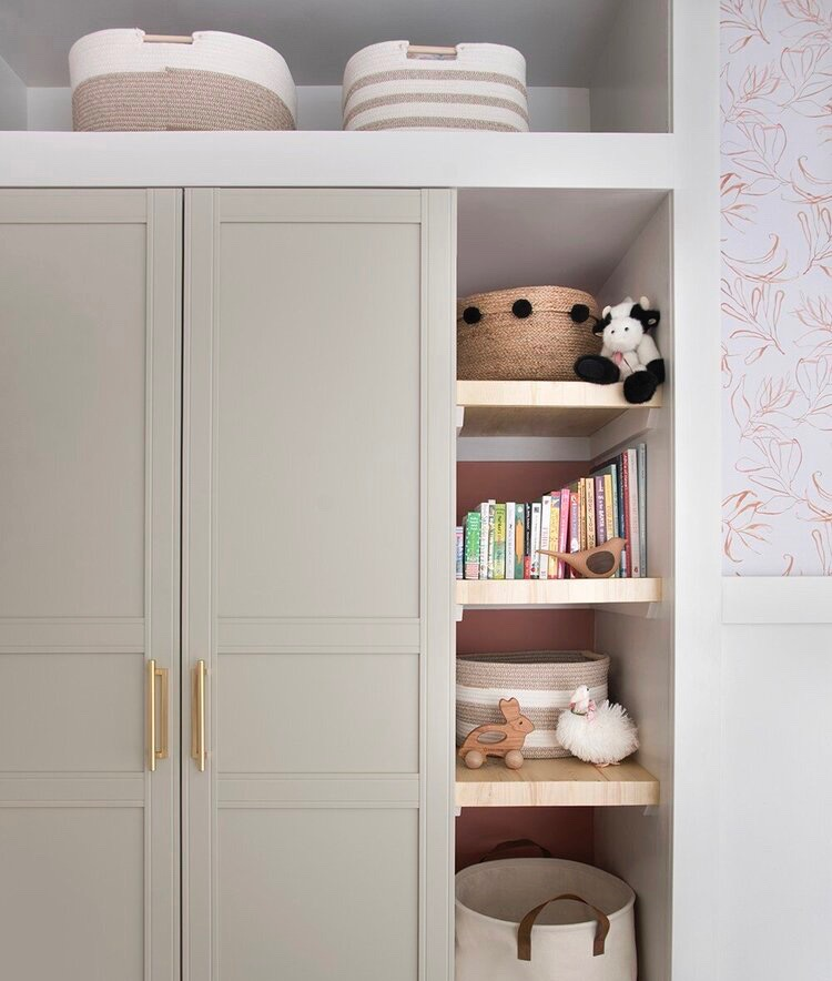 decluttered home - child's room