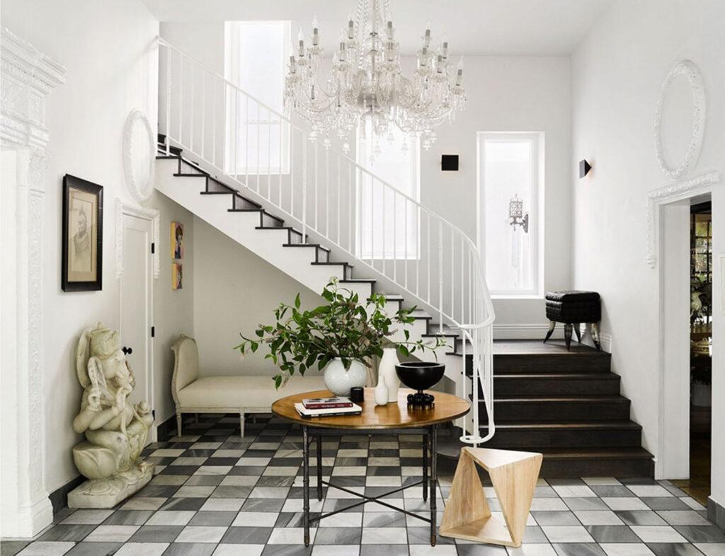 gorgeous entryway by Romanek Design Studio