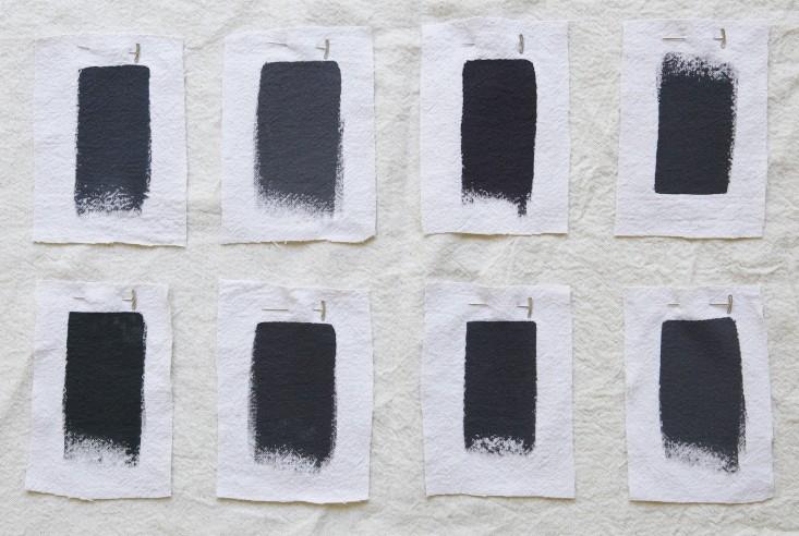choosing black paint colours