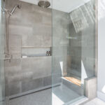 master bathroom shower in Port Moody renovation