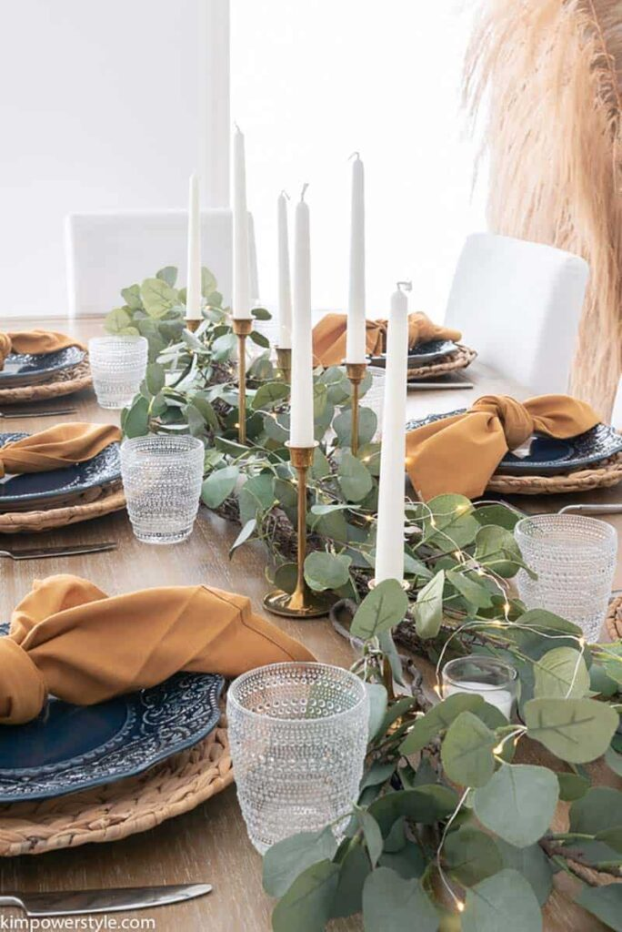 fall decor idea centrepiece