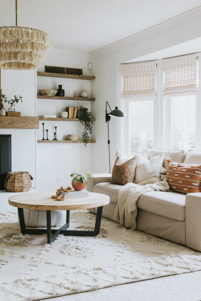 fall decor ideas living room colour