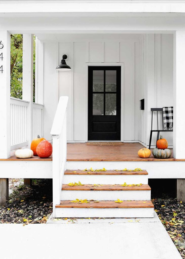 simple fall curb appeal