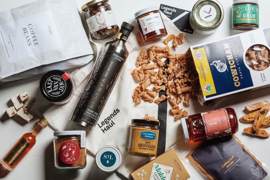shop local vancouver gift box