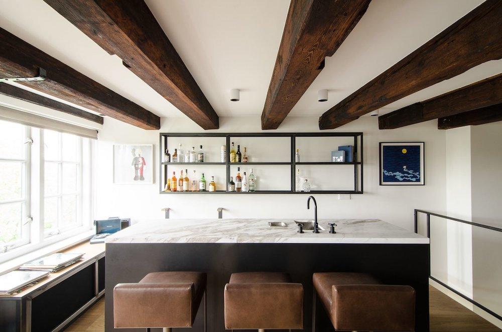 loft wet bar