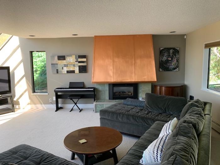 West Van living room remodel