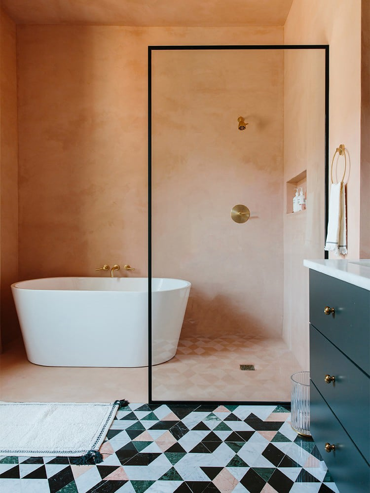bathtub walk-in shower trend