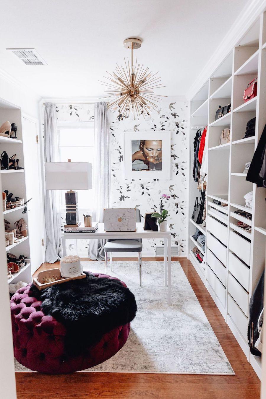 How to Convert a Closet into an Office
