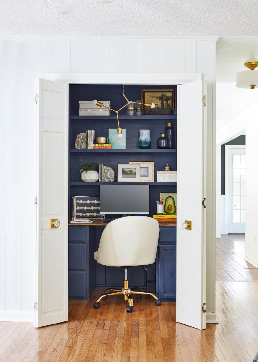closet office idea