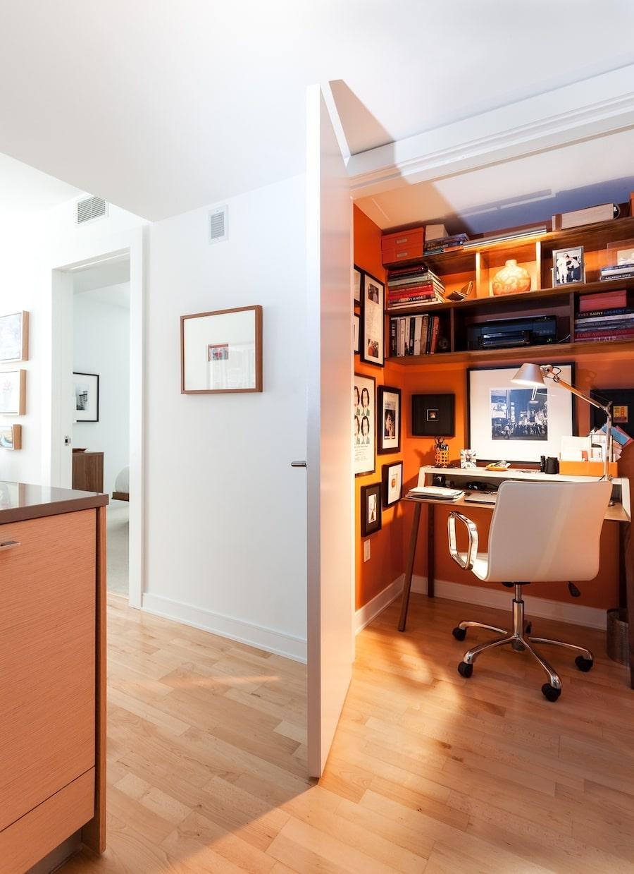 convert closet to office