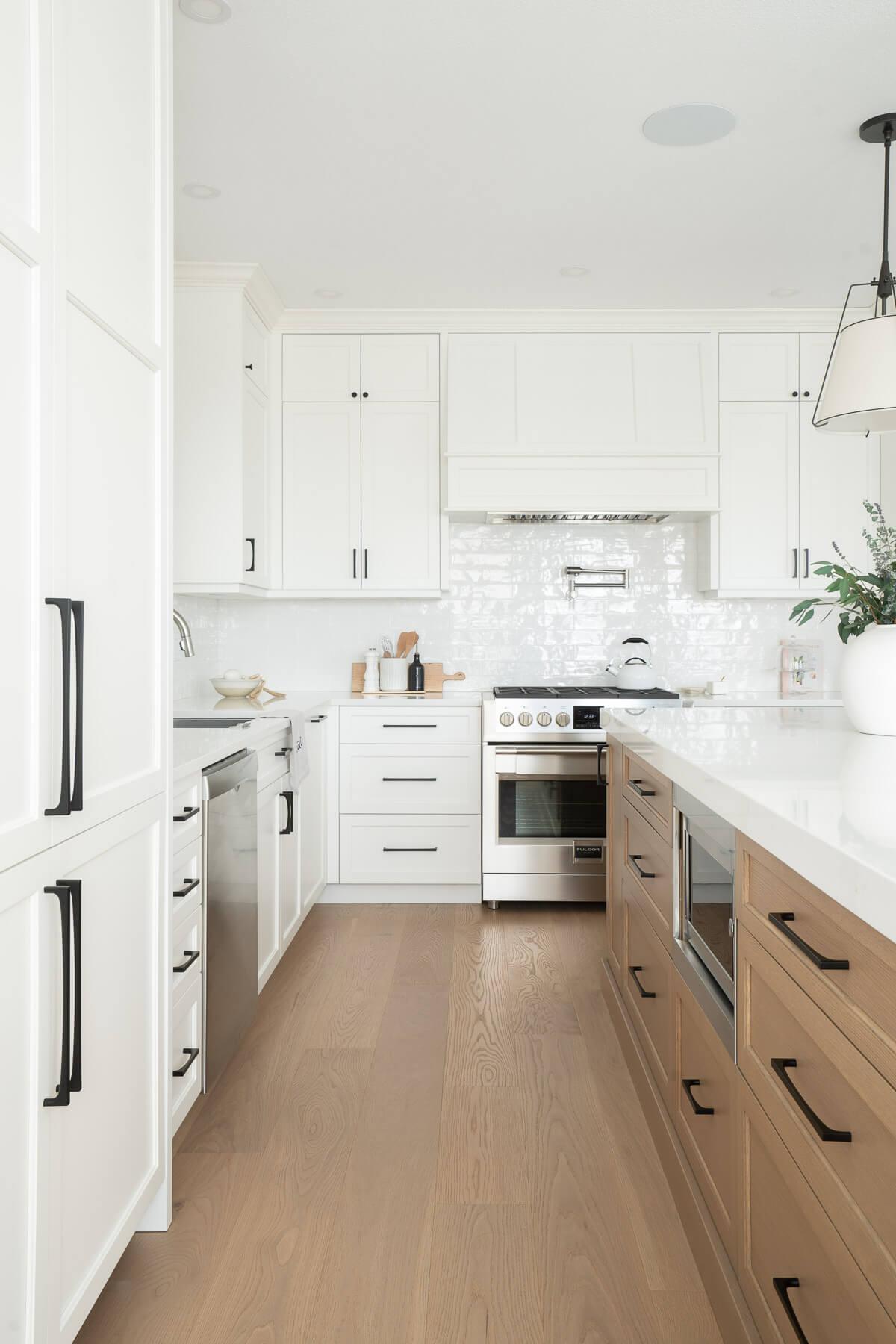 Port Moody white transitional kitchen