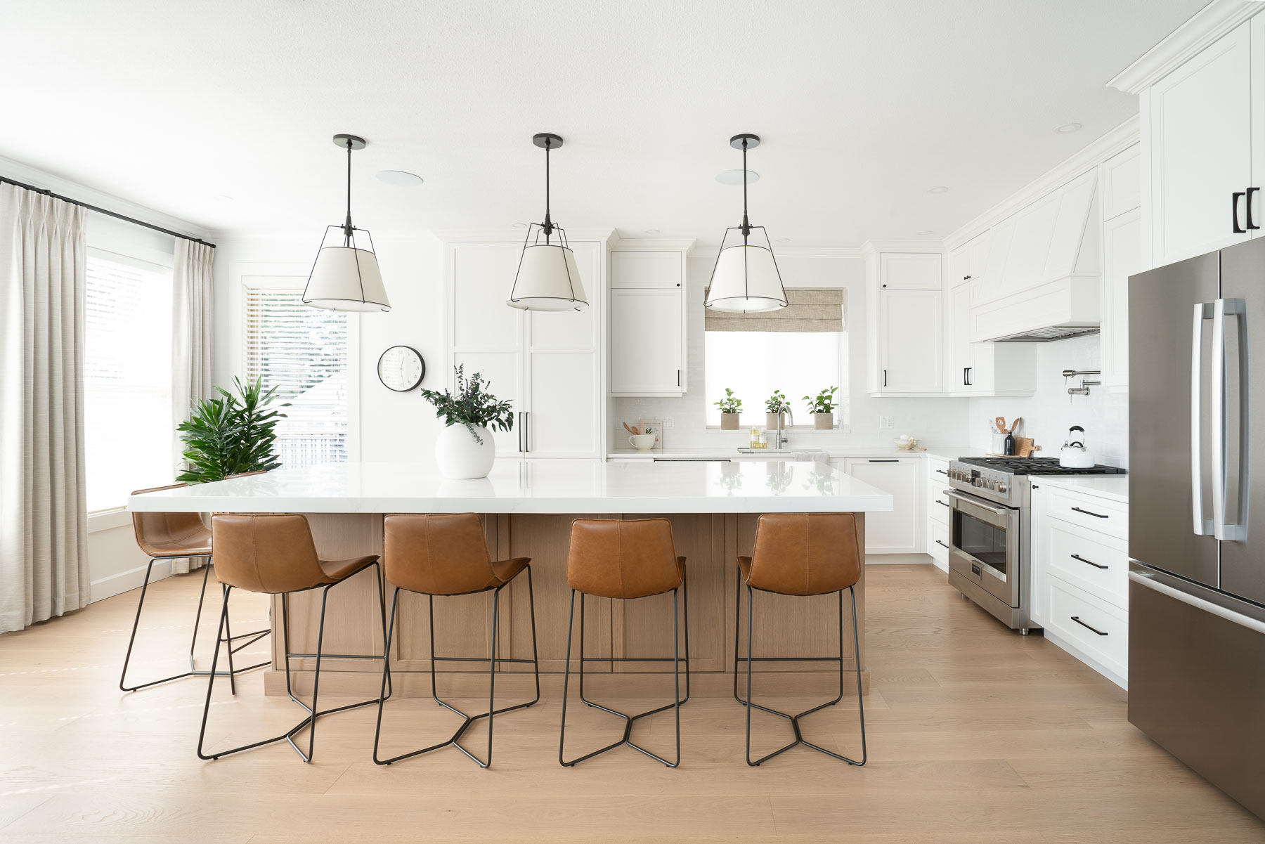 Port Moody bright kitchen renovation
