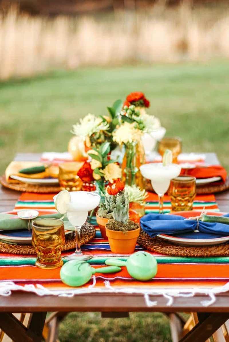 outdoor fiesta party