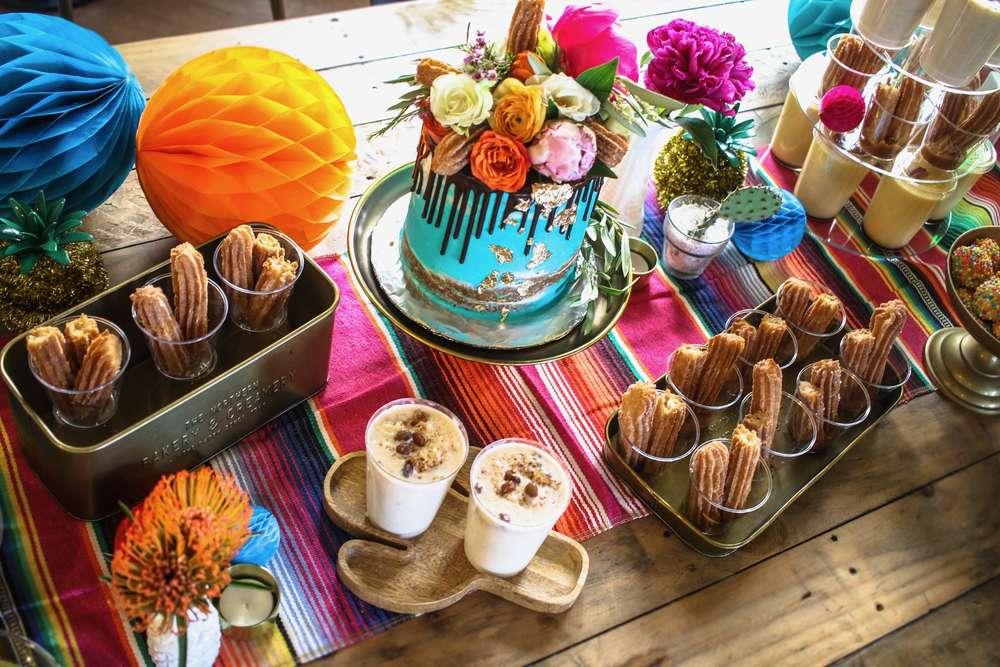 fiesta party desserts